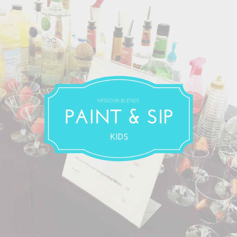 Missouri Blends Kids Paint and Sip