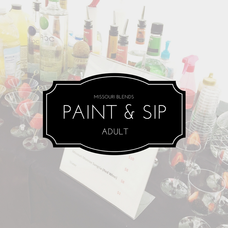Missouri Blends Adult Paint and Sip